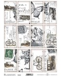Papel Scrapbooking TAG051 A4