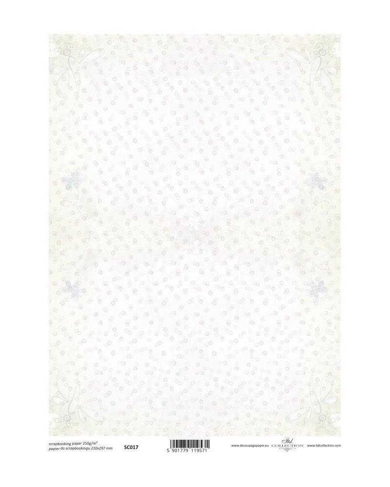 Papel Scrapbooking SC017 A4