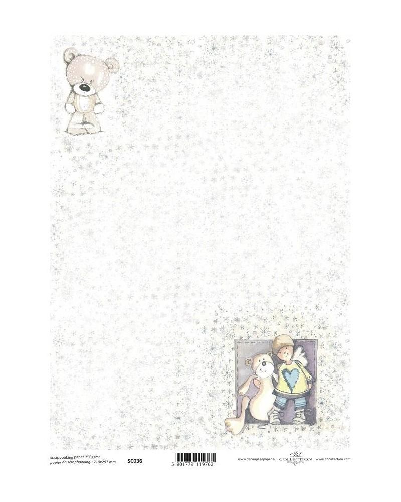 Papel Scrapbooking SC036 A4