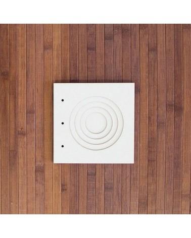 Álbum 010 Cartón 15x15 Tunel Concétrico por Aurora Almunia