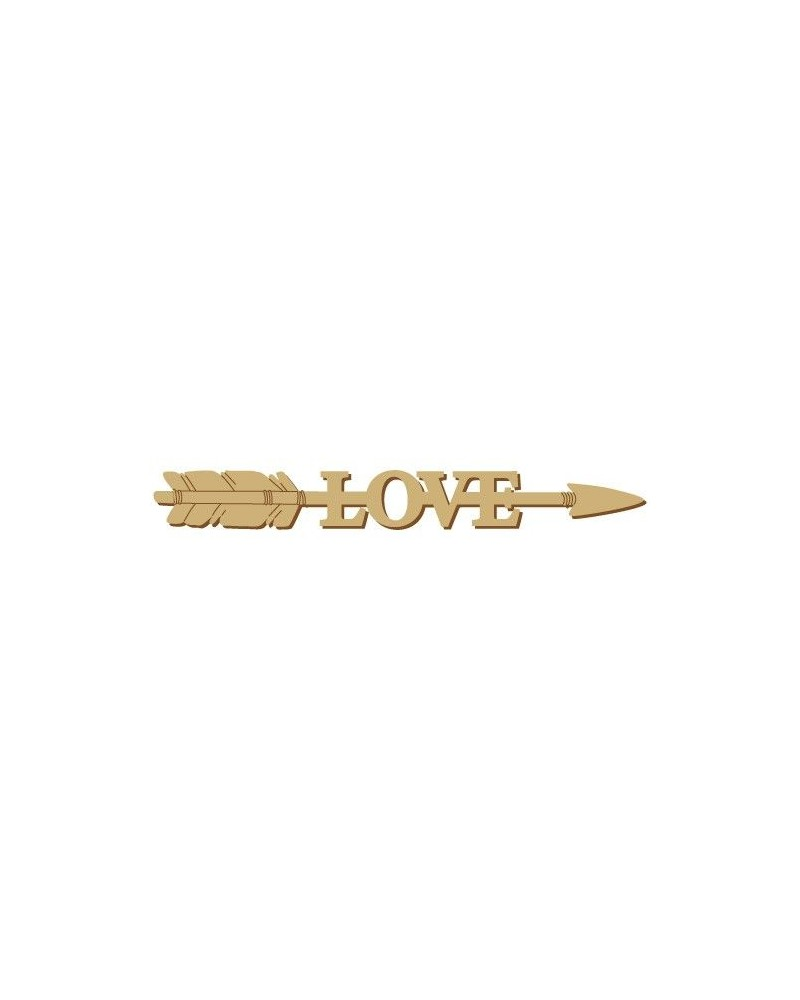 Soporte Cartel Madera 012 Flecha Love