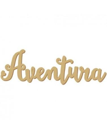 Silueta Texto 011 Aventura