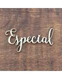 Silueta Texto 013 Especial - Madera