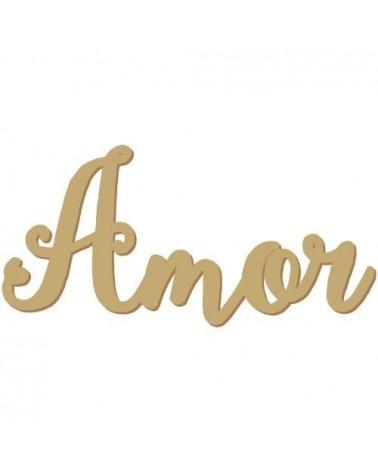 Silueta Texto 030 Amor