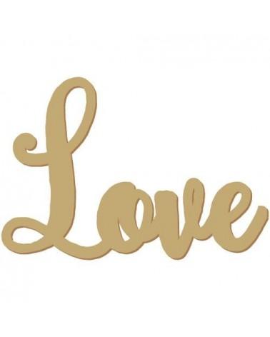 Silueta Texto 031 Love