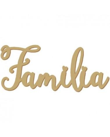 Silueta Texto 037 Familia