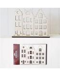 Kit DIY 004 Casas Holandesas