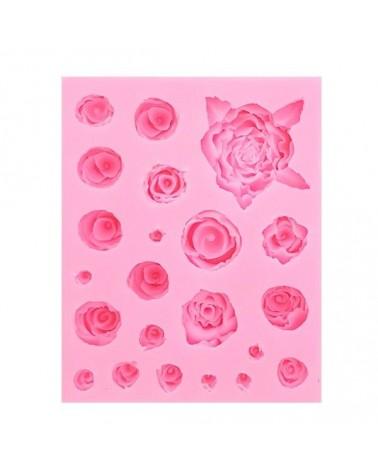 Molde de Silicona 015 Rosas