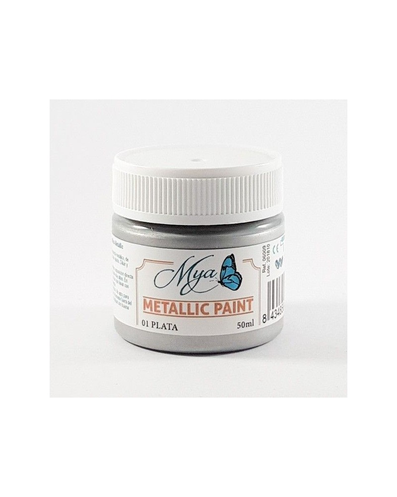 Metallic Paint MYA 01 Plata 50ml.
