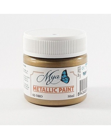 Metallic Paint MYA 01 Plata