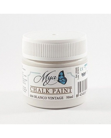Chalk Paint MYA 06 100ml Blanco Vintage