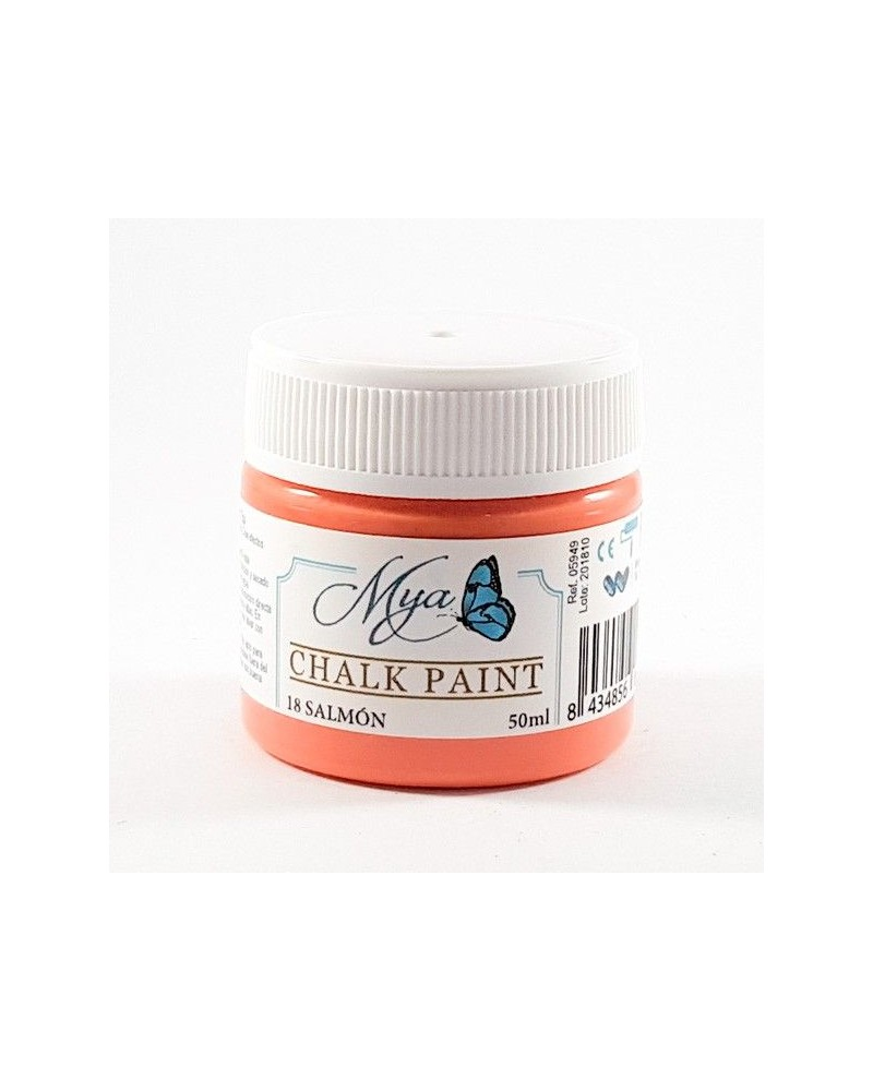 Pintura Chalk Paint MYA 18 Salmón 50ml