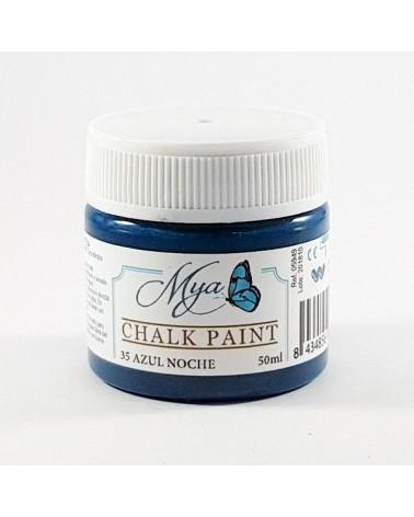 Pintura Chalk Paint MYA 35 Azul Noche