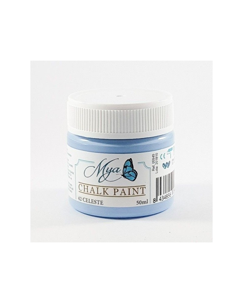 Pintura Chalk Paint MYA 42 Celeste 50ml