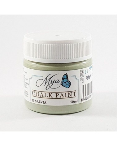 Pintura Chalk Paint MYA 50 Salvia 50ml