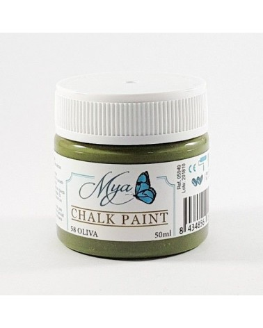 Pintura Chalk Paint MYA 58 Oliva 50ml
