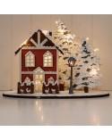 <h1>Kit DIY 005 Casa con árboles y farola</h1> <p>Kit compuesto de piezas de madera en crudo que forman la composición de una escena de una casa con árboles y farola.</p>