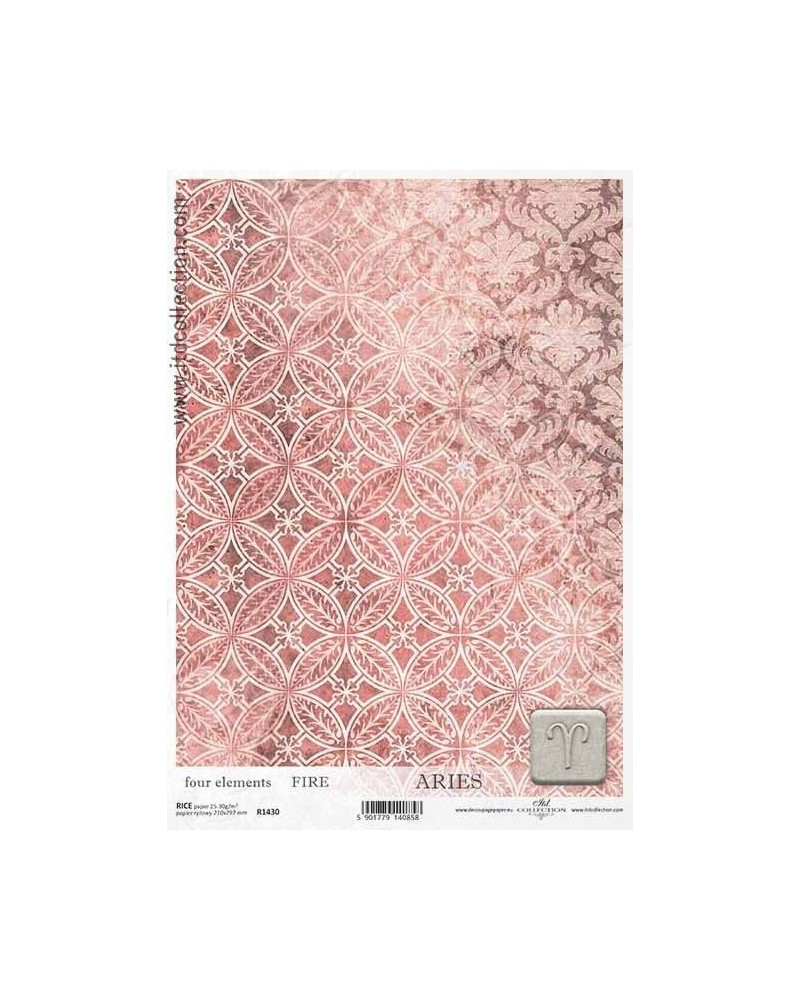Papel de Arroz Decoupage R1430 A4
