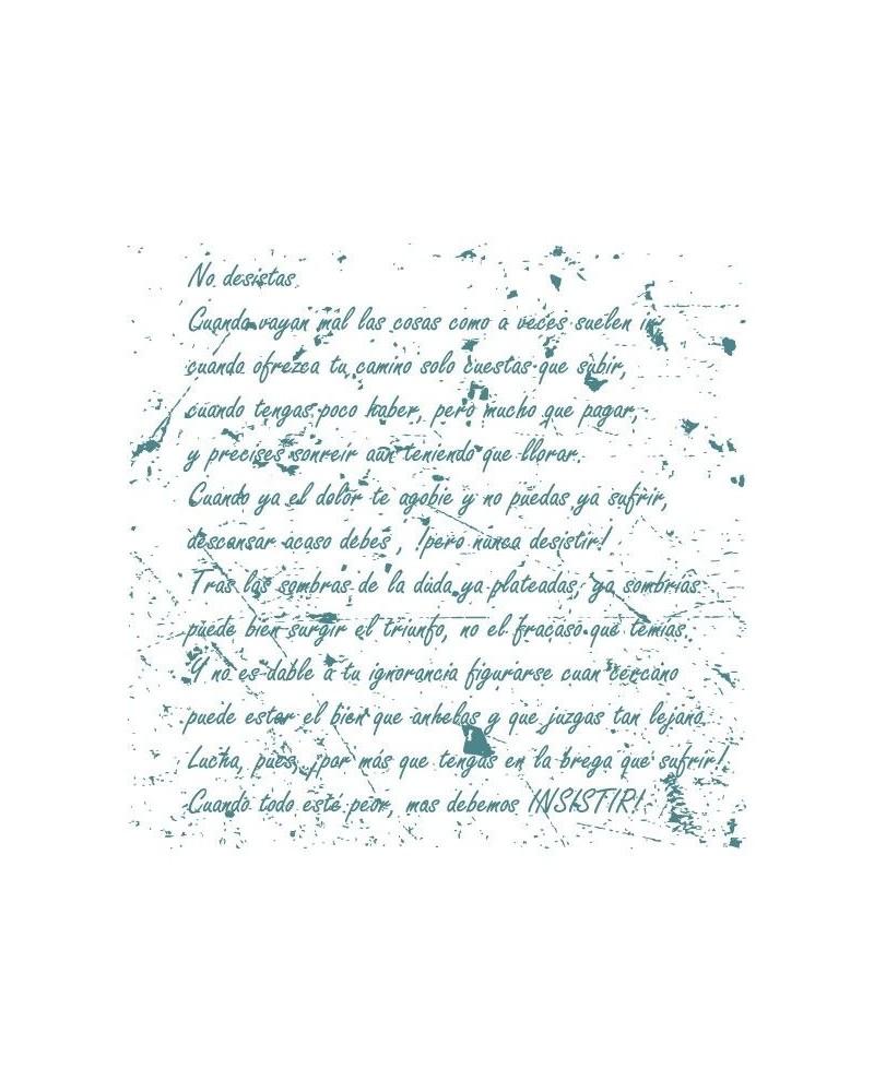 Sello Caucho Mya 0022 Poesia