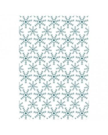 Sello Caucho Mya 0088 Copos De Nieve
