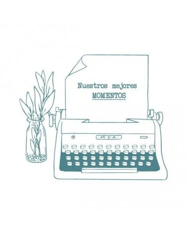 Sello Caucho Mya 0036 Máquina De Escribir