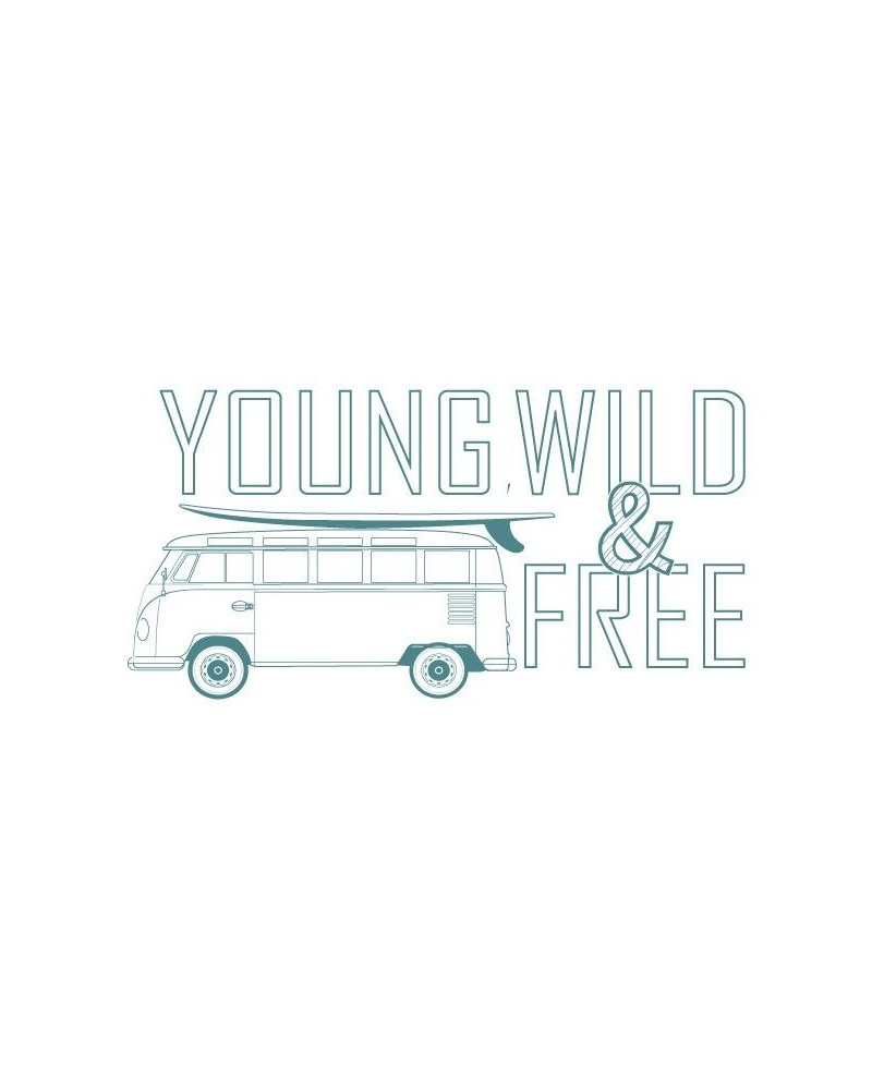 Sello Caucho Mya 0044 Young Wild & Free