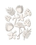 <h1>Chipboard Silhouettes set 026 Flamingo</h1> <ul> <li>(S) 15 x 20 cm</li> </ul>