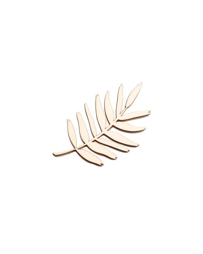 Wood Silhouette Figure 207 Tropical Leave