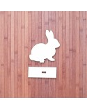 Wood Board 089 Easter Bunny