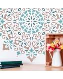 <p>Plantillas de gran formato para la decoración de habitaciones, paredes, techos, muebles, cortinas, alfombras, cojines, etc</p> <ul> <li>(S) 30 x 30cm - Diseño 28 x 28cm</li> <li>(M) 50 x 50cm - Diseño 48 x 48cm</li> <li>(L) 70 x 70cm - Diseño 68 x 68cm</li> <li>(XL) 90 x 90cm - Diseño 88 x 88 cm</li> </ul>