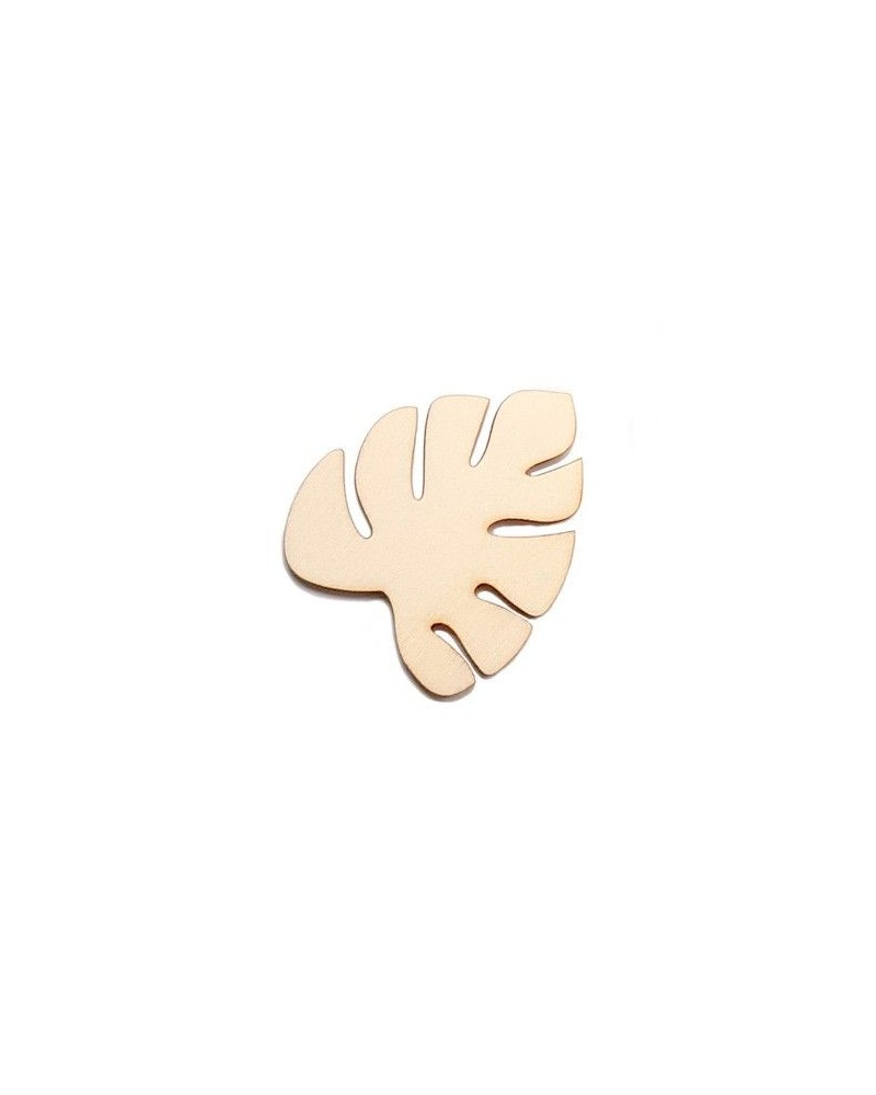 Wood Silhouette Figure 209 Tropical Leave