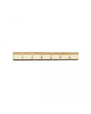 Wood Silhouette Figure 203 Ruler