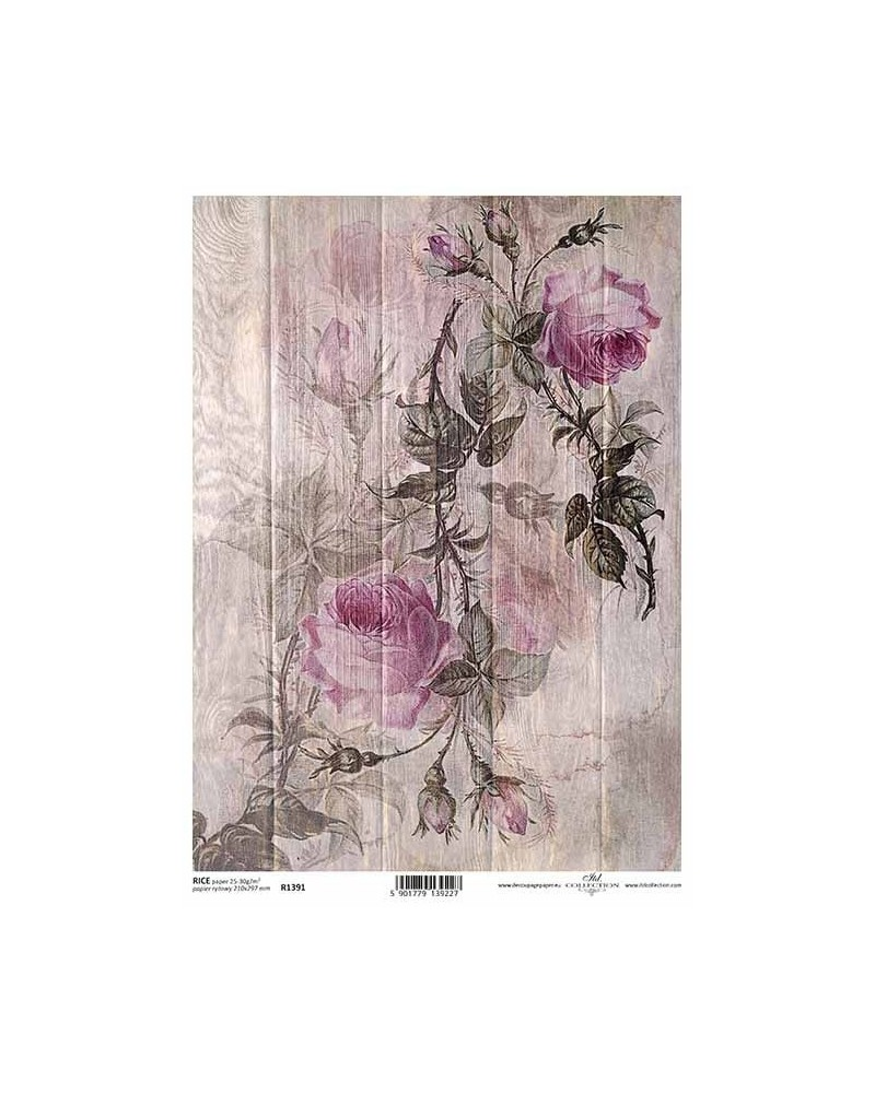 Papel de Arroz Decoupage R1391 A4