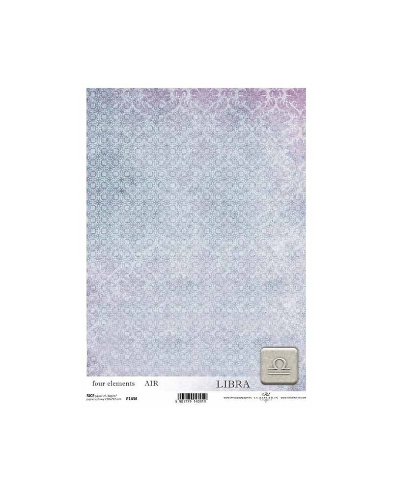 Papel de Arroz Decoupage R1436 A4
