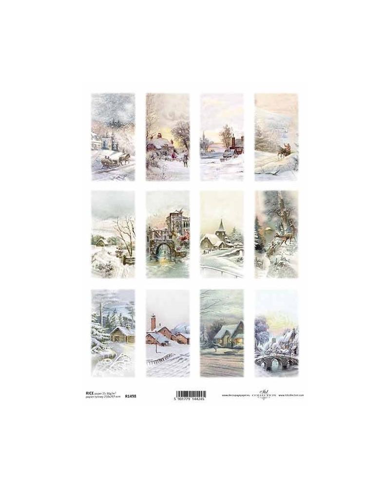 Papel de Arroz Decoupage R1498 A4