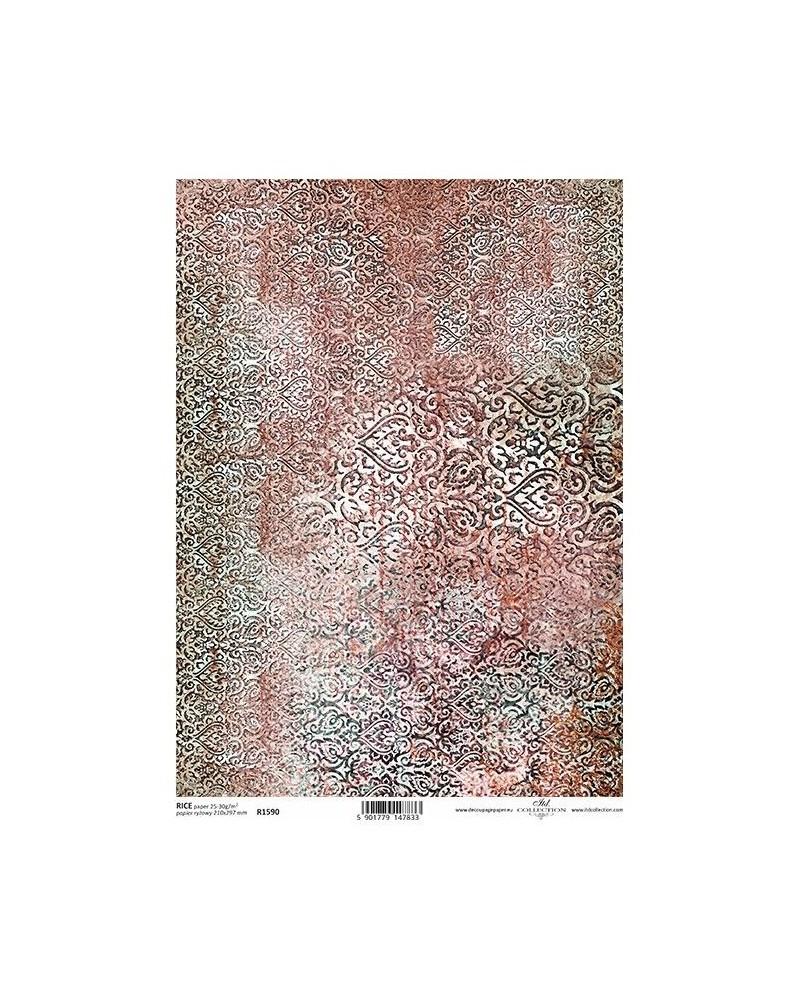 Papel de Arroz Decoupage R1590 A4