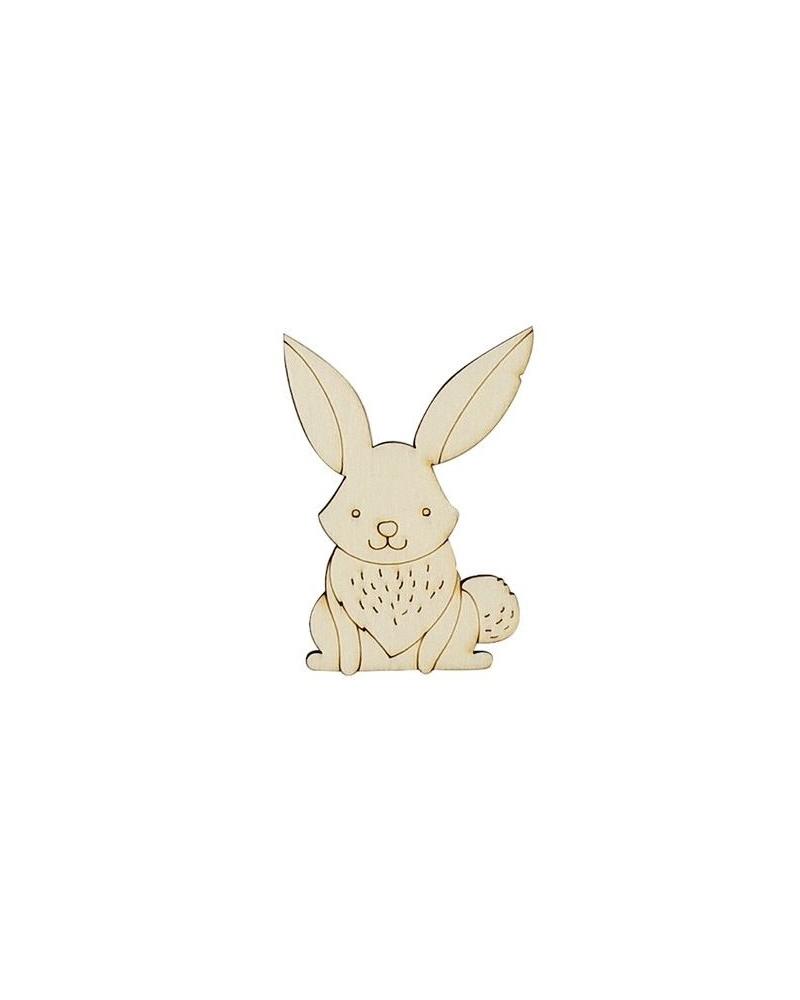 Silueta Mini 091 Conejo