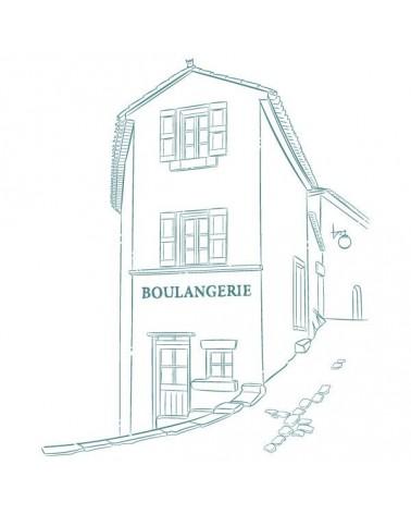 Sello Caucho Mya 0117 Boulangerie