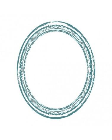 Sello Caucho Mya 0126 Espejo Ovalado