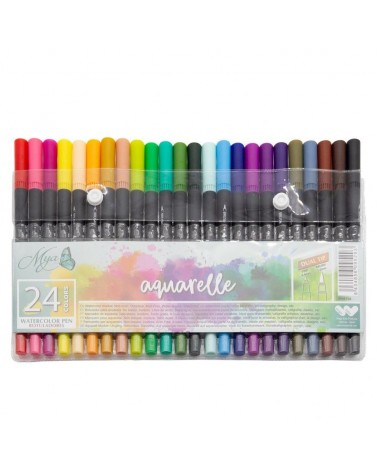 Rotuladores Aquarelle MYA set 24u