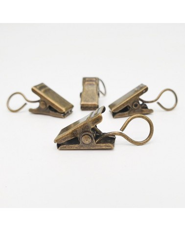 Pinza Bronce 9x18mm (4un) - 1