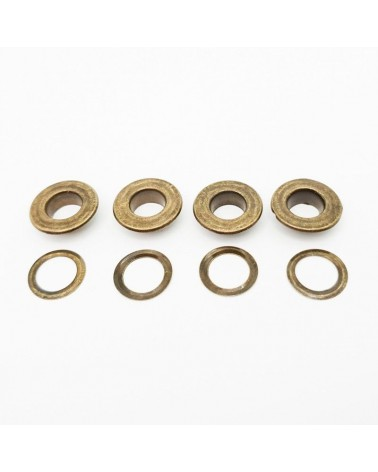 Pinza Bronce 9x18mm (4un)