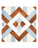 <p>Kit compuesto de 1 capas de madera de 7mm de grosor en crudo que forma un mosaico de rombos dibujado en su superficie y, por otra parte, las piezas también en madera de 7mm las cuales van enumeradas para que sea mas sencilla su colocación sobre dicha superficie.</p> <p>Medidas aproximadas montado:</p> <ul> <li>(S) 20 x 20 (a)cm</li> <li>(M) 30 x 30 (a)cm</li> <li>(L) 40 x 40 (a)cm</li> <li>(XL) 50 x 50 (a)cm</li> </ul>