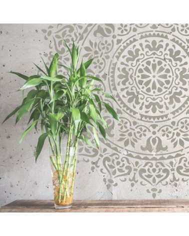 Stencil Home Decor Rosetón 016 Mandala