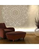 <p>Plantillas de gran formato para la decoración de habitaciones, paredes, techos, muebles, cortinas, alfombras, cojines, etc</p> <ul> <li>(S) 30 x 30 (a)cm - Diseño 28 x 28cm</li> <li>(M) 50 x 50 (a)cm - Diseño 47 x 47cm</li> <li>(L) 70 x 70 (a)cm - Diseño 67 x 67cm</li> <li>(XL) 90 x 90 (a)cm - Diseño 87 x 87 cm</li> </ul>