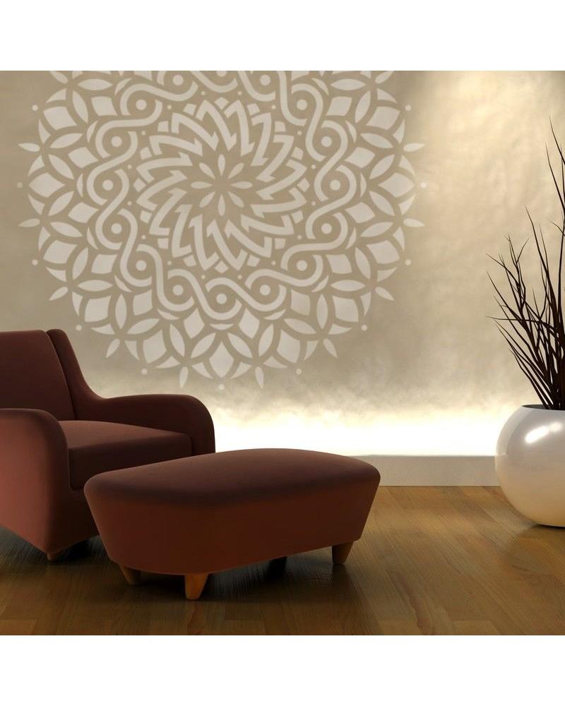 Stencil Home Decor Rosetón 016 Mandala