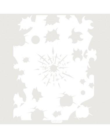 Letra Cartón 001 Floral M