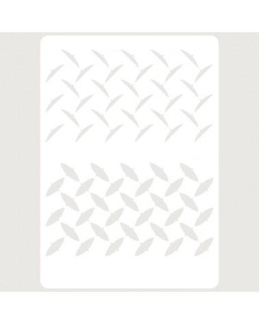 Letra Cartón 001 Floral Ñ