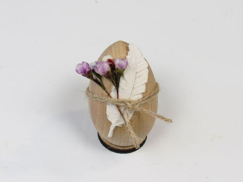 Huevo pascua decorado con Mya Flex Paste de TodoStencil