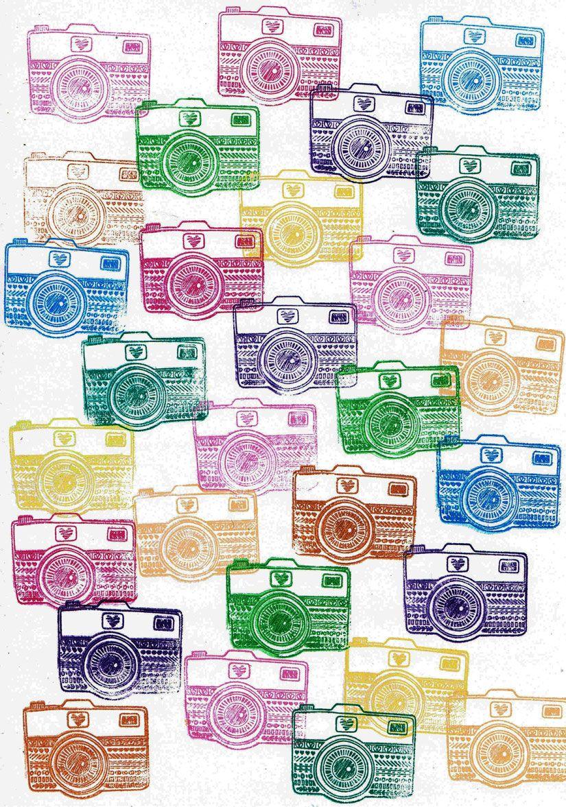 Impresión de estampación con sellos caucho Mya de TodoStencil